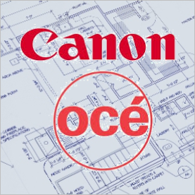 Document and Blueprint Print Services Using Our Canon Oce Equipment